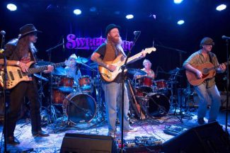 Achilles Wheel brings it home Saturday for CD release dance party at Miners Foundry