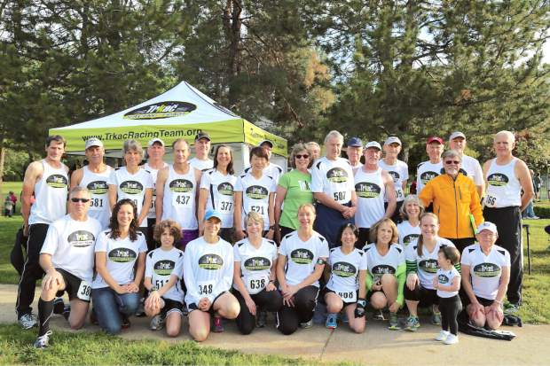 Members of the Trkac Racing Team have embraced new teammate Geno Meyers, who continues to run competitively despite being diagnosed with early onset of Alzheimer's disease.