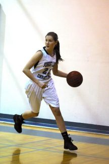 Lauren Piner Forest Lake Christian girls basketball