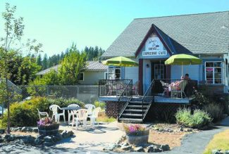 Angie Buist bought What's Up Coffee, which was formerly a Caroline's, located at 1110 E. Main Street, Grass Valley.