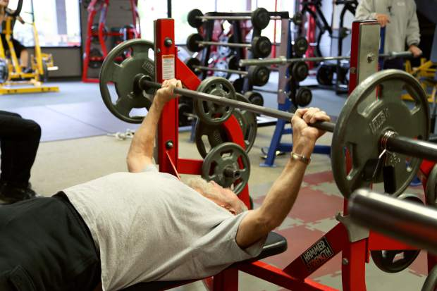Carville Local Man Bench Presses His Way Into Record Books