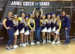 The Nevada Union Jr. Miners Midget cheerleaders placed third at the 2016 JAMZ Nationals Cheer competition last weekend in Las Vegas. The team is comprised of Tayiah Sanzone, Cadence Barton, Kylee Jianinno, Madison Wilson-McKinney, Sadie Thompson, Mia Webster, Rebecca Leffew and Leah Porterfield. They were coached by Heather Johanson, Shannon Barton and Alyssa Cowen.