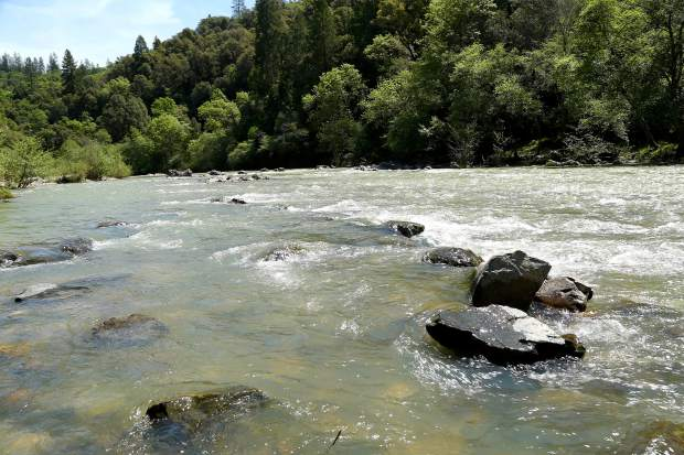Groups have submitted lenghty comments to NID concerning the Centennial Reservoir, which might dam the Bear River. Pictured above is a section of the river near Dog Bar Bridge.