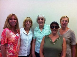 The 2013-2014 officers of the Nevada County Newcomers Club.