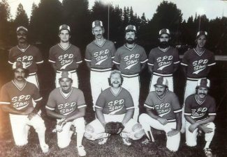 SPD Markets' men's softball team, circa 1980, and other Grass Valley area softball players will be honored Saturday at Colfax's 49th annual Men's Fast Pitch Classic.