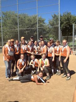 The Nevada County Girls Softball Association's 12U XTREME earned an invitation to the Western Nationals in San Diego after placing second at a tournament in Folsom. The team has excepted the invite and will represent Nevada County softball at the elite tournament July 11-13.