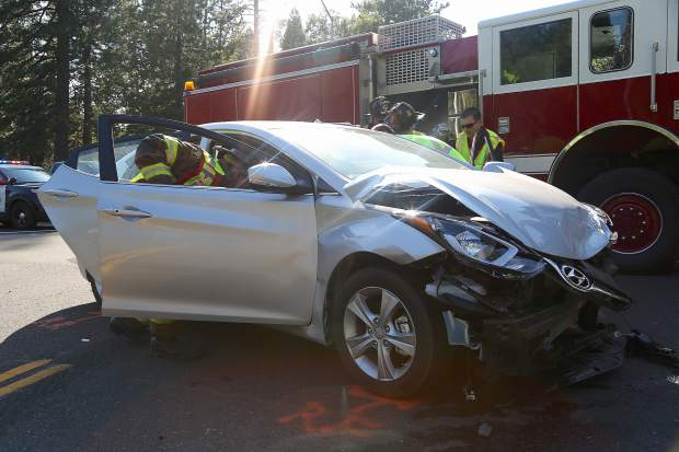 Highway 20/49 crash slows traffic in Nevada City area | TheUnion com