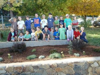 The Cub Scouts of Pack 23 recently spent time beautifying the planter beds at Nevada City's Pioneer Park swimming pool, pulling weeds, planting new plants, moving rocks and sweeping decks. A generous donation and assistance from Prospector's Nursery, whose staff volunteered their time and taught the boys the proper way to care for plants, made the work possible. For more information about Cub Scout Pack 23 and what they do, or to contact the pack, visit www.pack23scouts.com.