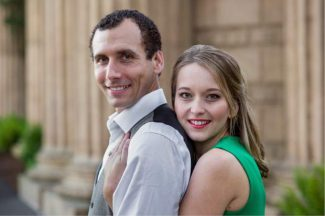 Aaron Nousaine and Meghan Lewis