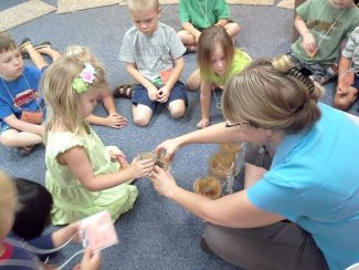 Sun, water explored at 'Sacred Creation' day camp