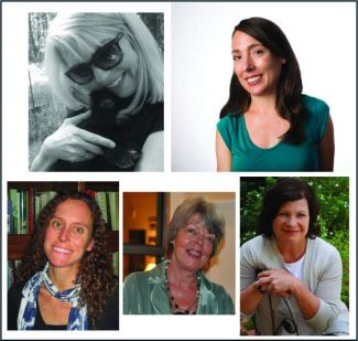 5 women writers featured at April 23 salon in Grass Valley