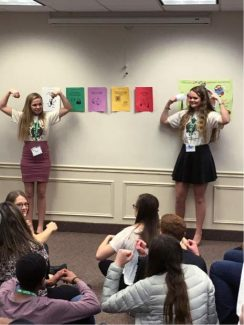 Nevada County teens present at a National 4-H Youth Summit