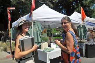 Investing in the community: New farmers market manager finds her place in Nevada City