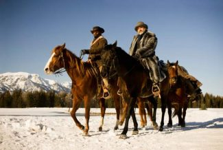 """This undated publicity image released by The Weinstein Company shows, from left, Jamie Foxx as Django and Christoph Waltz as Schultz in the film, """"Django Unchained,"""" directed by Quentin Tarantino.  (AP Photo/The Weinstein Company, Andrew Cooper, SMPSP, File)"""