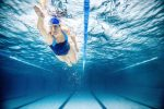 This photo is inspiration to keep moving despite injuries — even if it's under water.