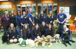 FFA students from Nevada Union and Bear River raise puppies to be guide dogs for the blind.