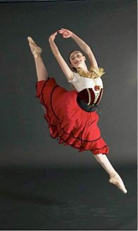 "Best of 3 ballets in ""Three Acts"" Friday, Saturday"