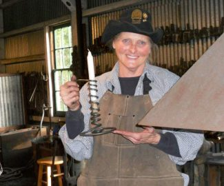 'Courting candles' still burn at Empire Mine's blacksmith shop
