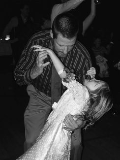 """Dozens of dads and daughter will dance the night way in the """"Enchanted Forest"""" Friday night at the seventh annual Daddy Daughter Dance, which benefits the Domestic Violence and Sexual Assault Coalition."""