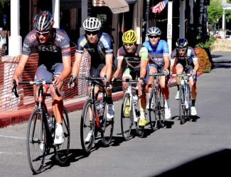 The  53rd annual Nevada City Bicycle Classic,  Father Day, Sunday, on Broad Street, and neighborhood streets of Nevada City. Riders on Commercial Street.