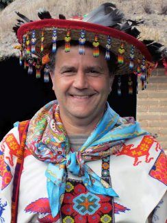 Healing energies: Traditional Huichol healer in Grass Valley March 26
