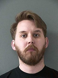 John Wayne Hill, 32, booked into the Nevada County jail on Jan. 18 on charges related to sexual acts with a minor.