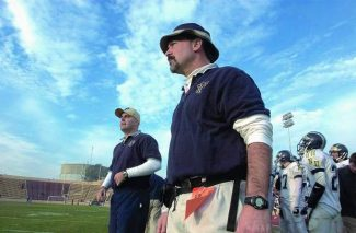 Dave Humphers and his trademark fisherman's cap roamed the Nevada Union sideline for 22 years, racking up 195 wins, 10 league titles and four section championships (1993, 1994, 2005, 2009).