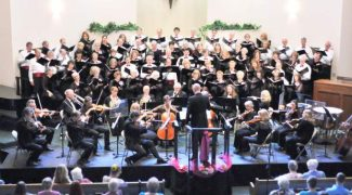 """The Sierra Master Chorale will perform two concerts, Thursday evening and Sunday afternoon, in Grass Valley. The music was selected to take the audience on a """"musical journey,"""" says Artistic Director Ken Hardin."""