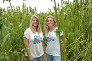 "Linda Booker and Blaire Johnson, co-directors of the industrial hemp film ""Bringing It Home."""