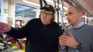 Michael Moore film premiere Tuesday is latest in Oscar-winner's benefits for KVMR