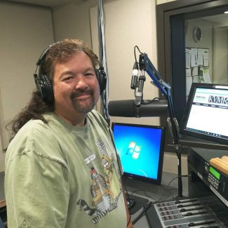 Broadcast class grad flying solo late night this weekend