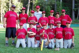 The Nevada City (Major Division) Angels