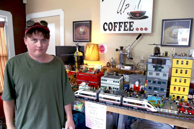Lego Land: Lego city on display at Grass Valley's What's Up ...