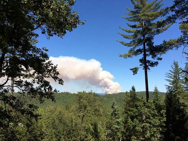 From Highland Drive in Grass Valley.