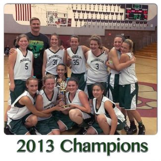 Magnolia Rattlers eighth-grade Nevada County girls basketball champs: