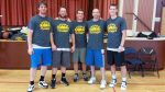 Team Dylan Mitzel won the Nevada County Adult Sports Association's A-League basketball title Sunday. The team is comprised of from left: Dylan Mitzel, John Richards, Mark Kendall, Justin Anthony and Marc Hopkinson.