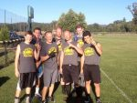 Team Brooke won a second straight Nevada County Adult Sports Association flag football championship Saturday at Western Gateway Park. Team Brooke includes Dylan Brooke, Brandon Brooke, Ben Brooke, Mason Brooke, Heath Brooke, Bailey Brooke and Forrest Moore.