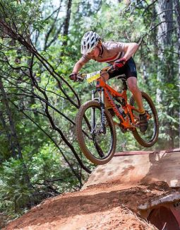 Liam Ruff competes in the Nevada City Dirt Classic Race No. 1 in June.