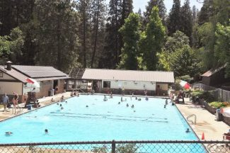 Shown is the Nevada City pool, Pioneer Park, last year.