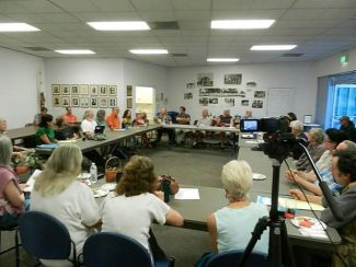 Producers involved with NCTV met Aug. 6 to talk about the future of programs that appear on closing station's channels.