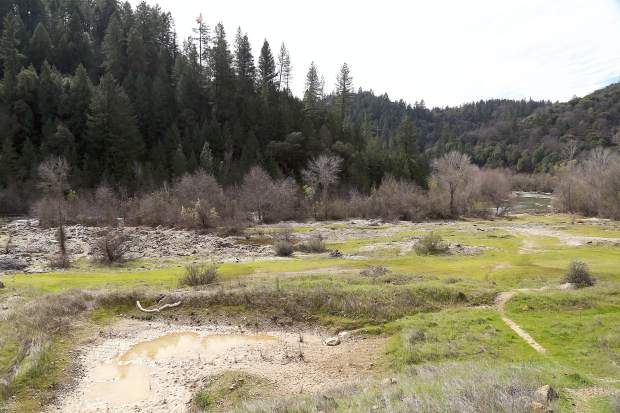 Site for the top of the Centennial Reservoir project off Taylor Crossing abd Dog Bar Road in Grass Valley.