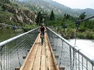 Following the river on the Tahoe-Pyramid Bikeway