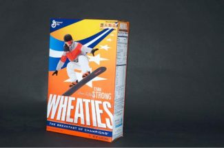 Paralympian Evan Strong will be featured on the boxes of Wheaties.