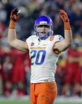 Boise State linebacker Tanner Vallejo, a 2013 Nevada Union graduate, was named the Fiesta Bowl Defensive MVP after recording 14 tackles and 1.5 sacks in a 38-30 win over Arizona Dec. 31.