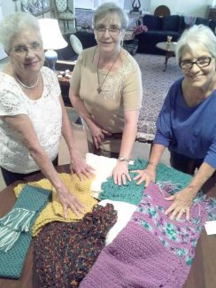 Wrapped with God's love: Prayer shawls from Peace Lutheran Church warm shoulders and hearts