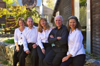 From left: Carolyn Winter, Bruce Kelly, Gaylie Bell-Stewart, Dru Mathies, Renee Sprattling, Not Pictured David Irons and Tim O'Connor. All will read at Sunday's Readers Theater production, a benefit for Miners Foundry Cultural Center.