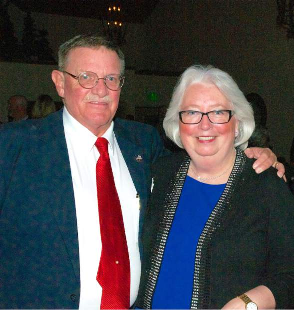 The 16th annual Red Light Ball presented by the Nevada County Law Enforcement and Fire Protection Council, Saturday evening, Alta Sierra Country Club. Bill and Susan Drown.