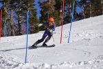 Nevada Union alpine skier Mikaela Lujan competes in the slalom event at Sugar Bowl Monday.