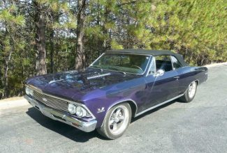 Ron Cherry: Wedding gift '66 Chevelle SS 396 convertible