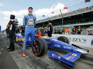 Ron Cherry: Alexander Rossi and the Roamin Angels Car Show